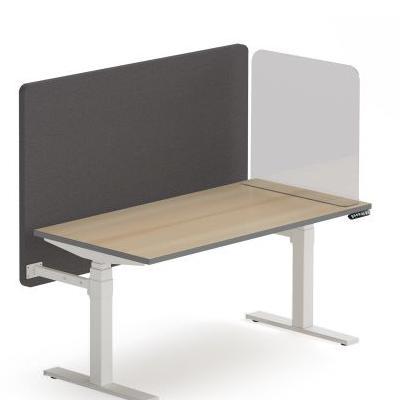 wolnostojący panel boczny, frontowy plexi