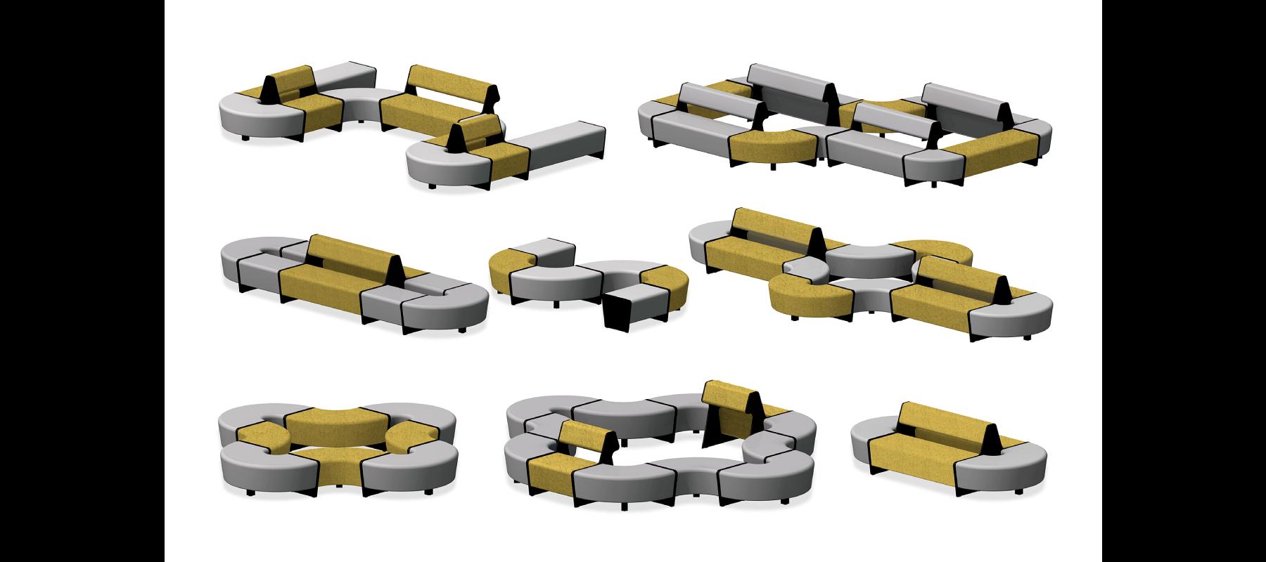 siedziska magnes II aranżacje - 27