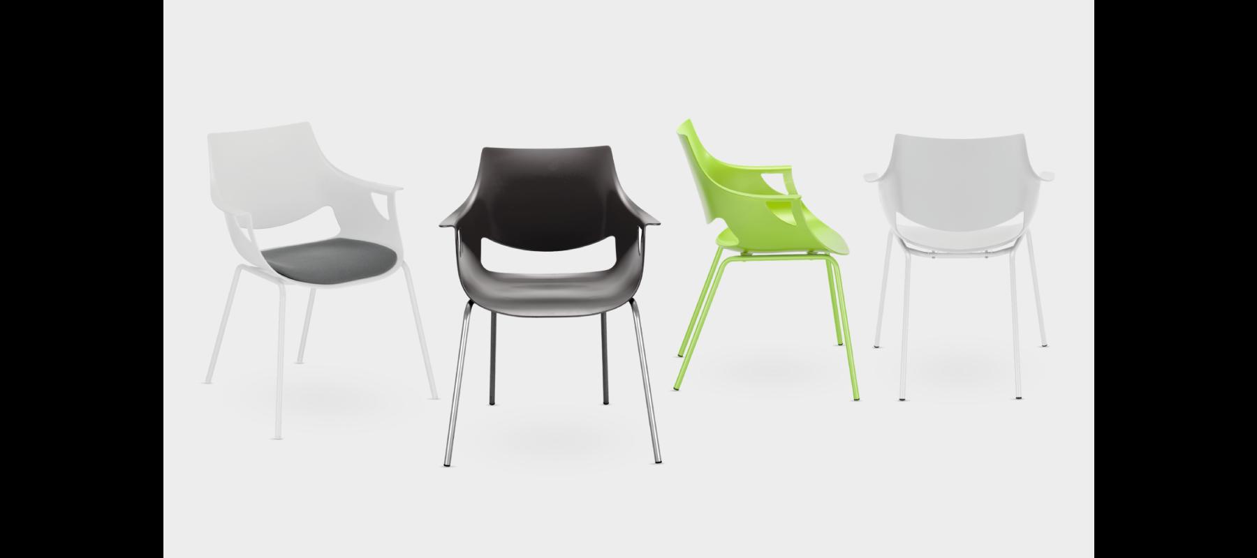 krzesła stacjonarne fano aranżacje - 05