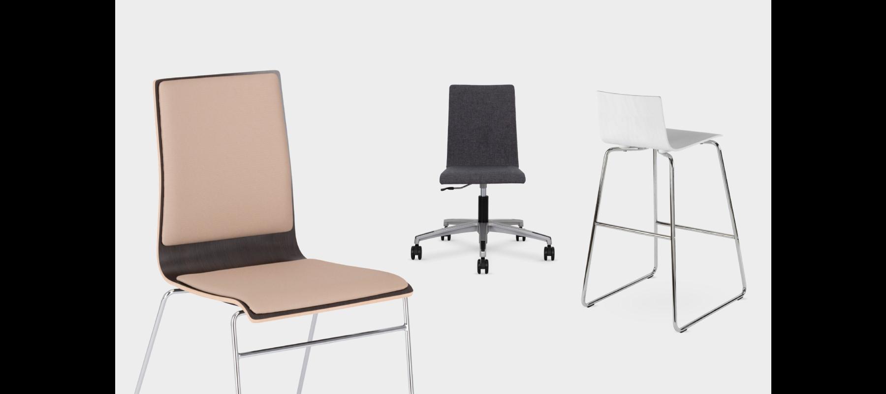 krzesła stacjonarne cafe aranżacje - 05