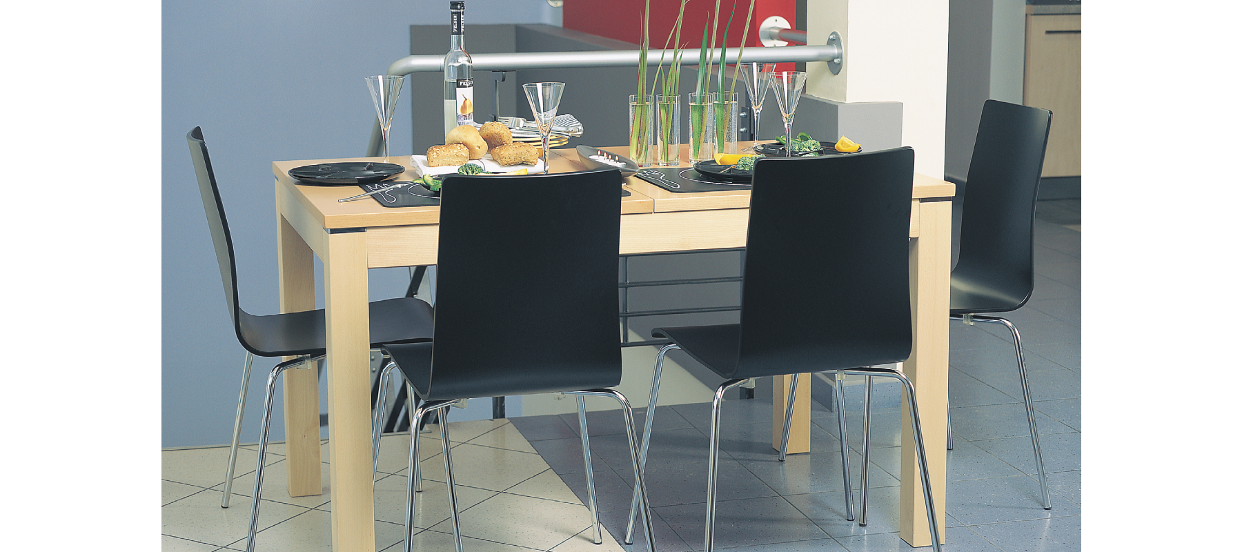 krzesła stacjonarne cafe aranżacje - 13