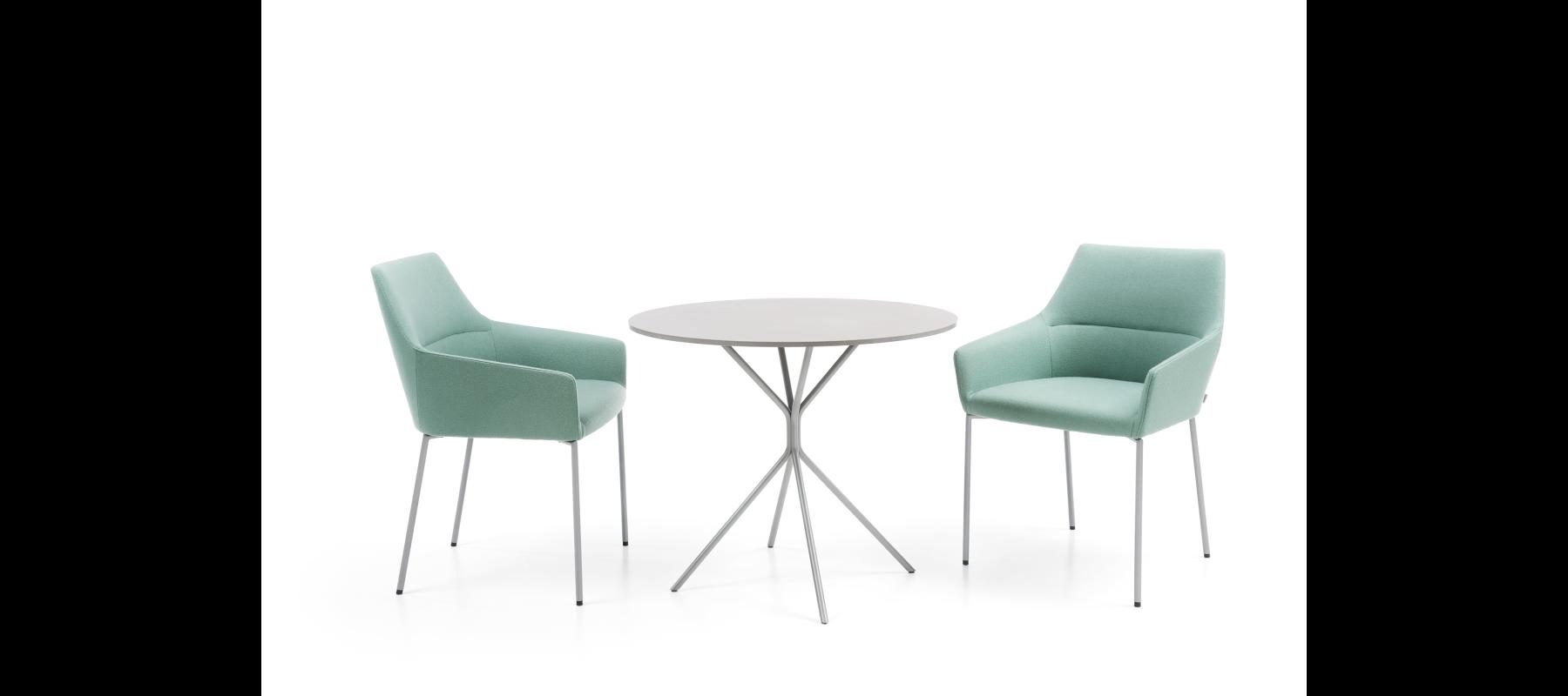 krzesła stacjonarne chic aranżacje - 10