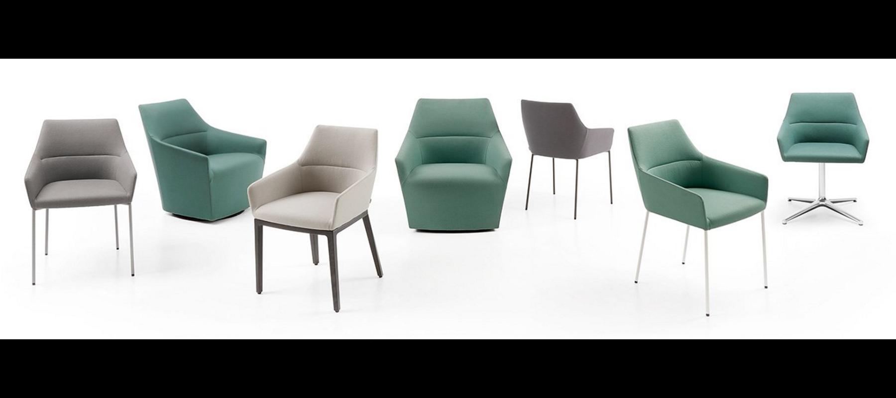 krzesła stacjonarne chic aranżacje - 12