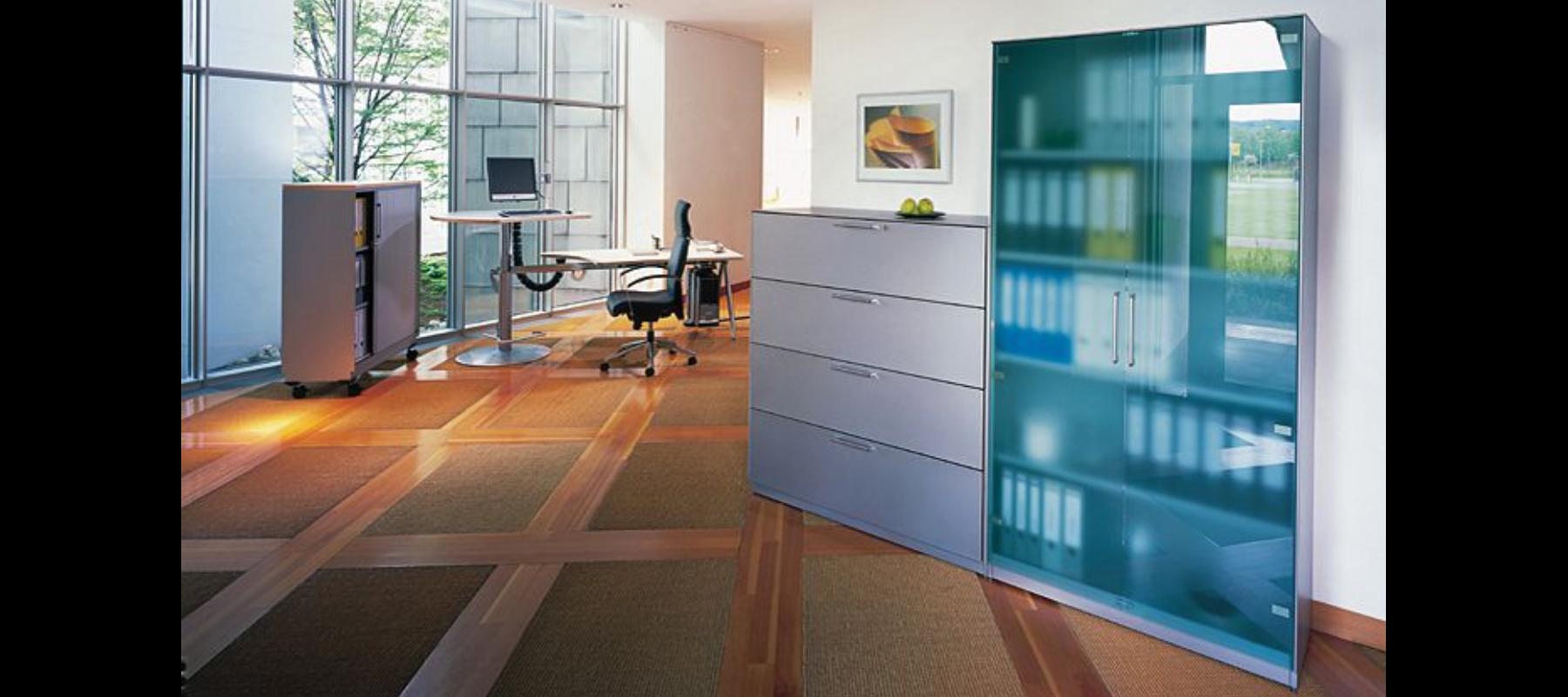 metalowe meble biurowe szafy szufladowe cp aranżacja - 04