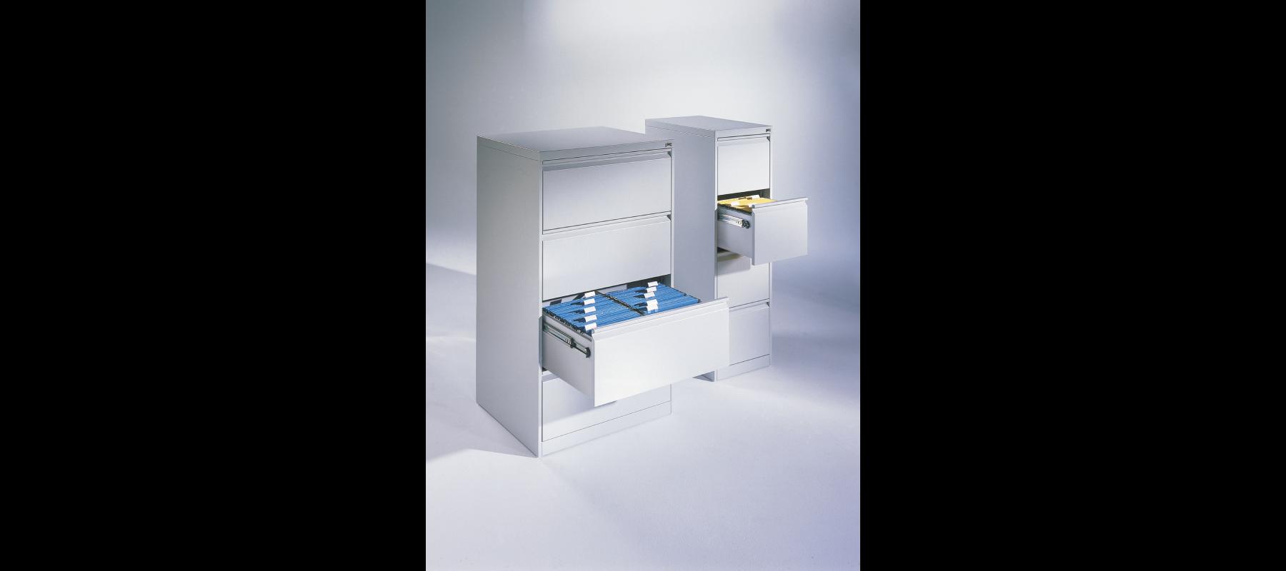 metalowe meble biurowe szafy szufladowe cp aranżacja - 06