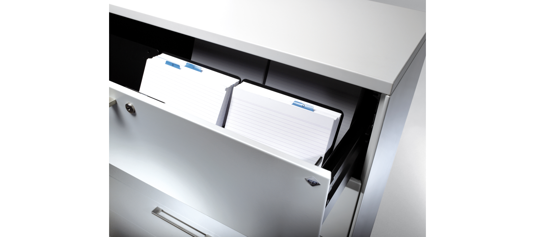 metalowe meble biurowe szafy szufladowe cp detale - 03