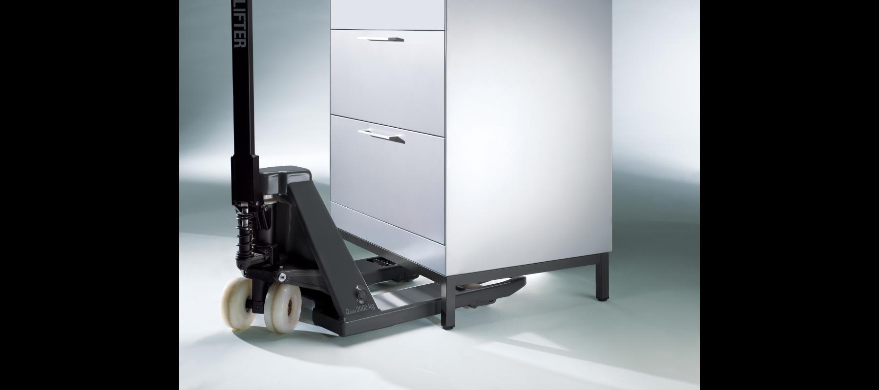 metalowe meble biurowe szafy szufladowe cp detale - 07
