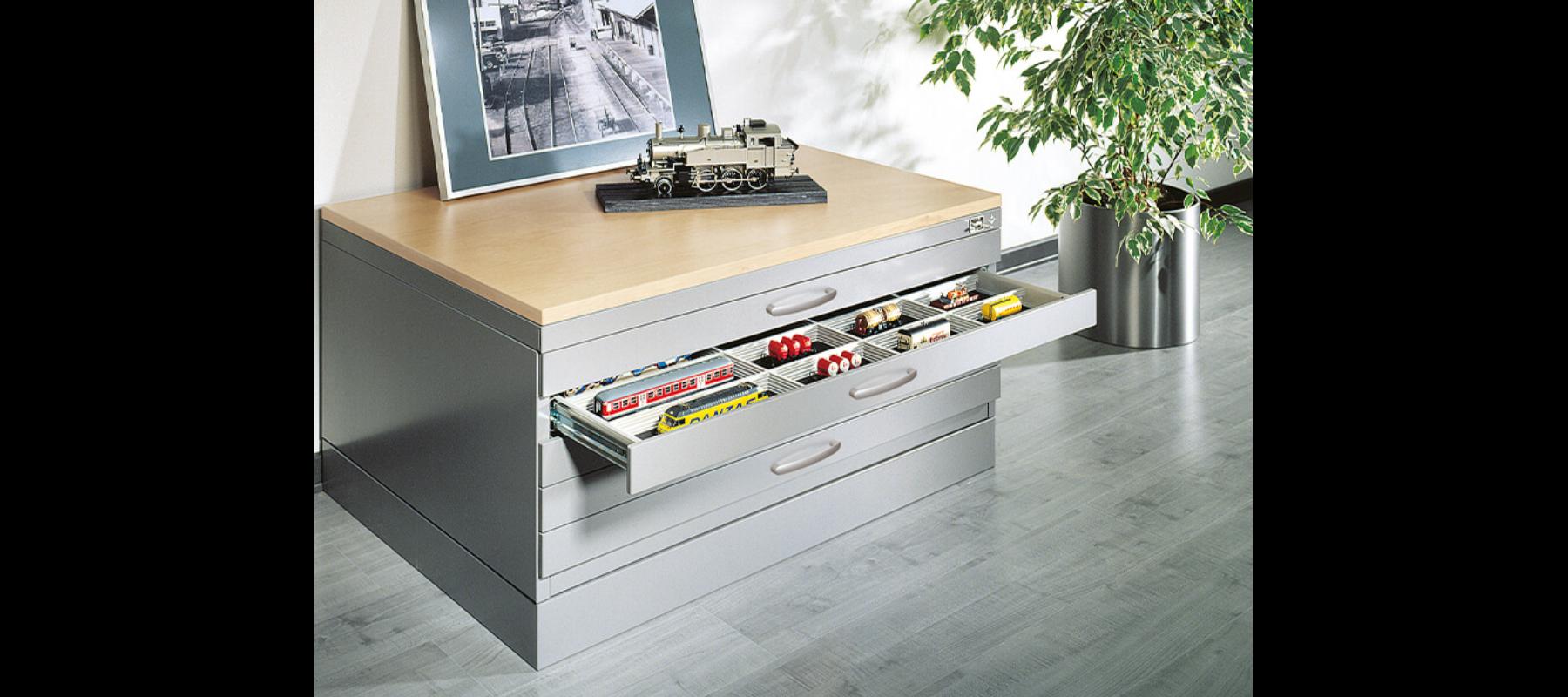 metalowe meble biurowe szafy szufladowe cp detale - 08