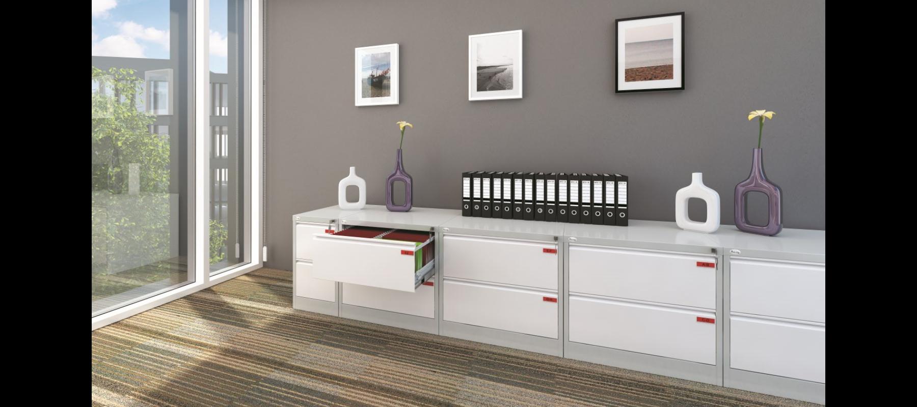 meble metalowe metalowe meble biurowe szafy szufladowe mw aranżacje - 01