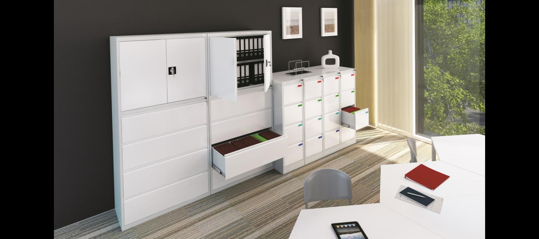 meble metalowe metalowe meble biurowe szafy szufladowe mw aranżacje - 04