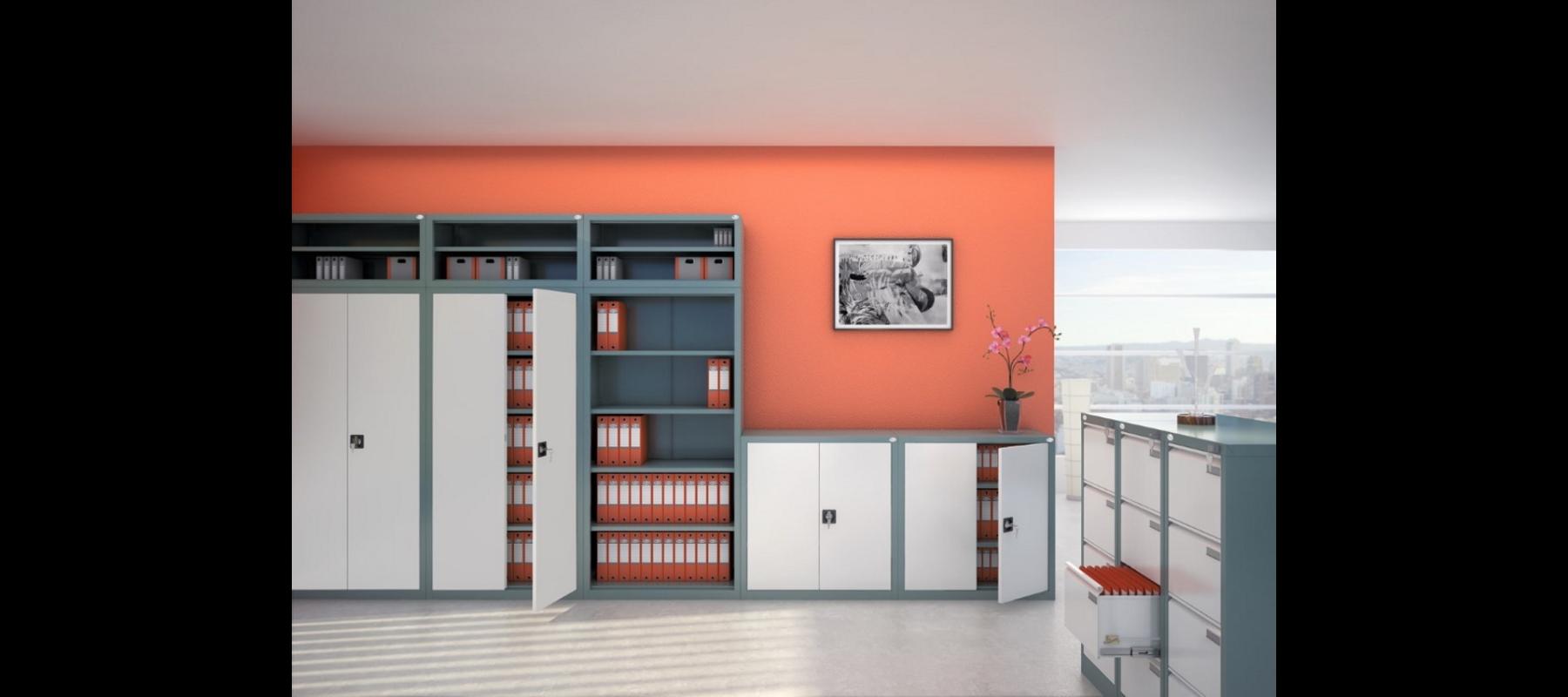 meble metalowe metalowe meble biurowe szafy szufladowe mw aranżacje - 06