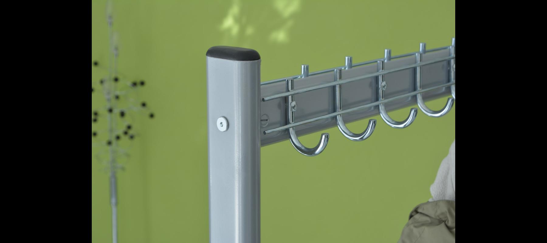 meble metalowe szatnie wieszaki szatniowe detale - 06