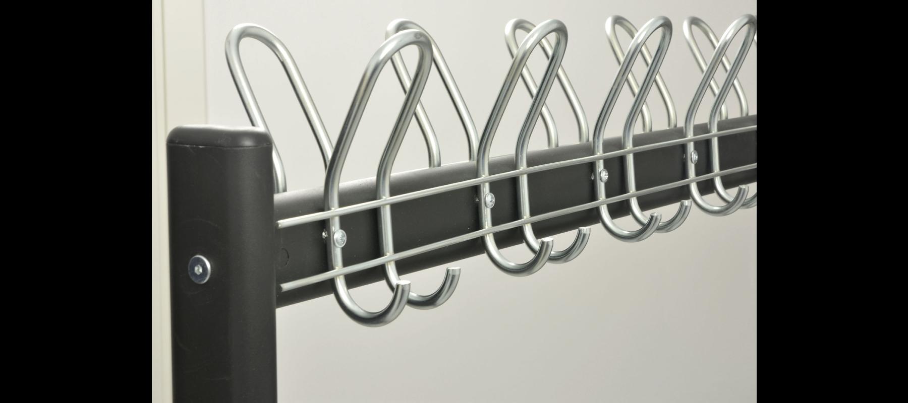 meble metalowe szatnie wieszaki szatniowe detale - 10