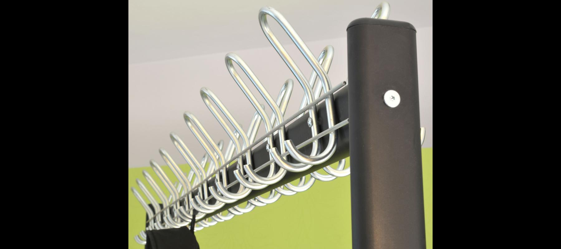 meble metalowe szatnie wieszaki szatniowe detale - 13