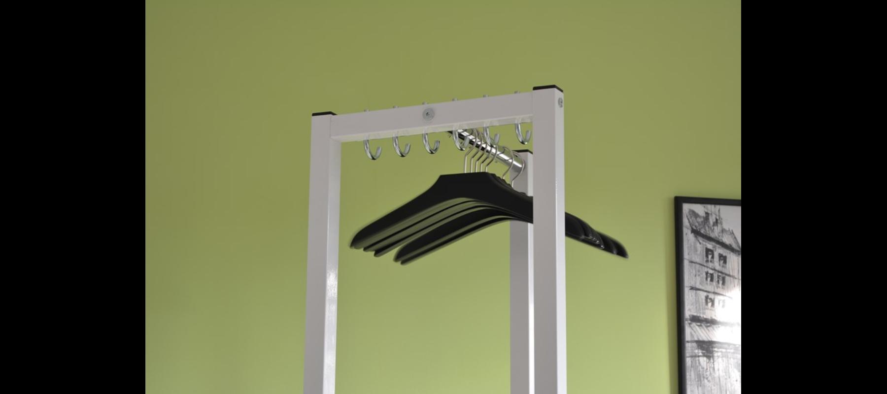 meble metalowe szatnie wieszaki szatniowe detale - 47