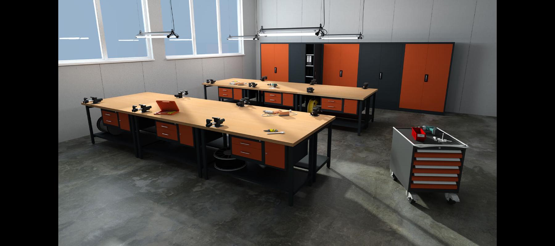 meble warsztatowe meble warsztatowe cp stoły aranżacje - 02